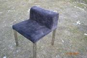 продам удобные велюровые стул кресла б/у черного цвета