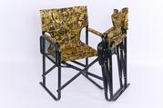 Складное кресло   РЕЖИССЕР с откидныной полочкой - столиком.