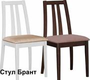 красивый деревянный стул Брант венге белый
