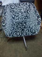 Кресло тканевое б.у для кафе,  бара,  ресторана.