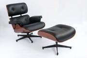 Дніпро Крісло eames lounge chair з оттоманом надійне і комфортне,  воно