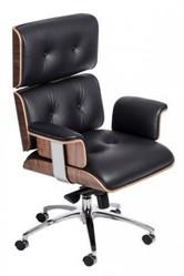 Крісло репліка Eames Lounge Chair еймс лаунж Львів Крісло шкіряне з от