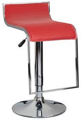 барный стул Ж8 огус бежевый красный пластик