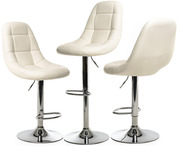 Барный стул В-45 белый цвет стул барный в-45