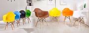 Кресло Тауэр Вуд,  ножки деревянные,  бук,  пластик,  цвета в ассортименте