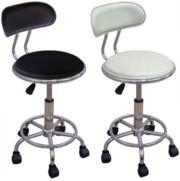 Офисные стулья на колесиках стул Бэйсик черный белый бейсик